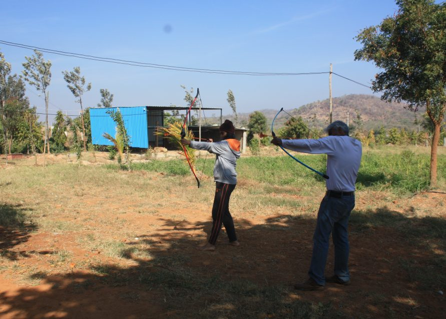 Soft Archery at NimaiValley