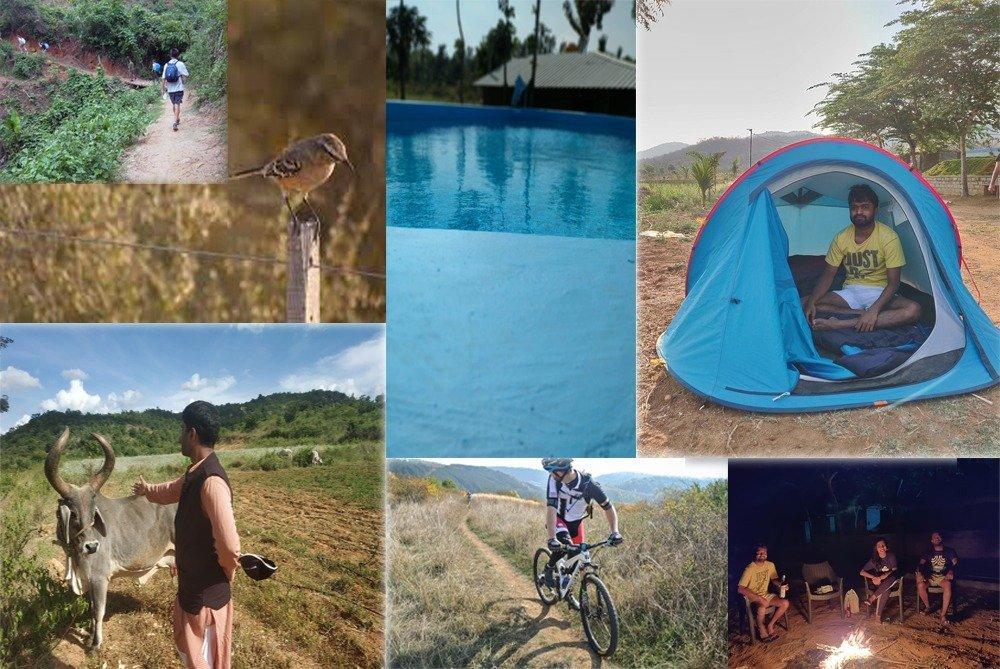 Activities at CampHalli, farm near Bangalore