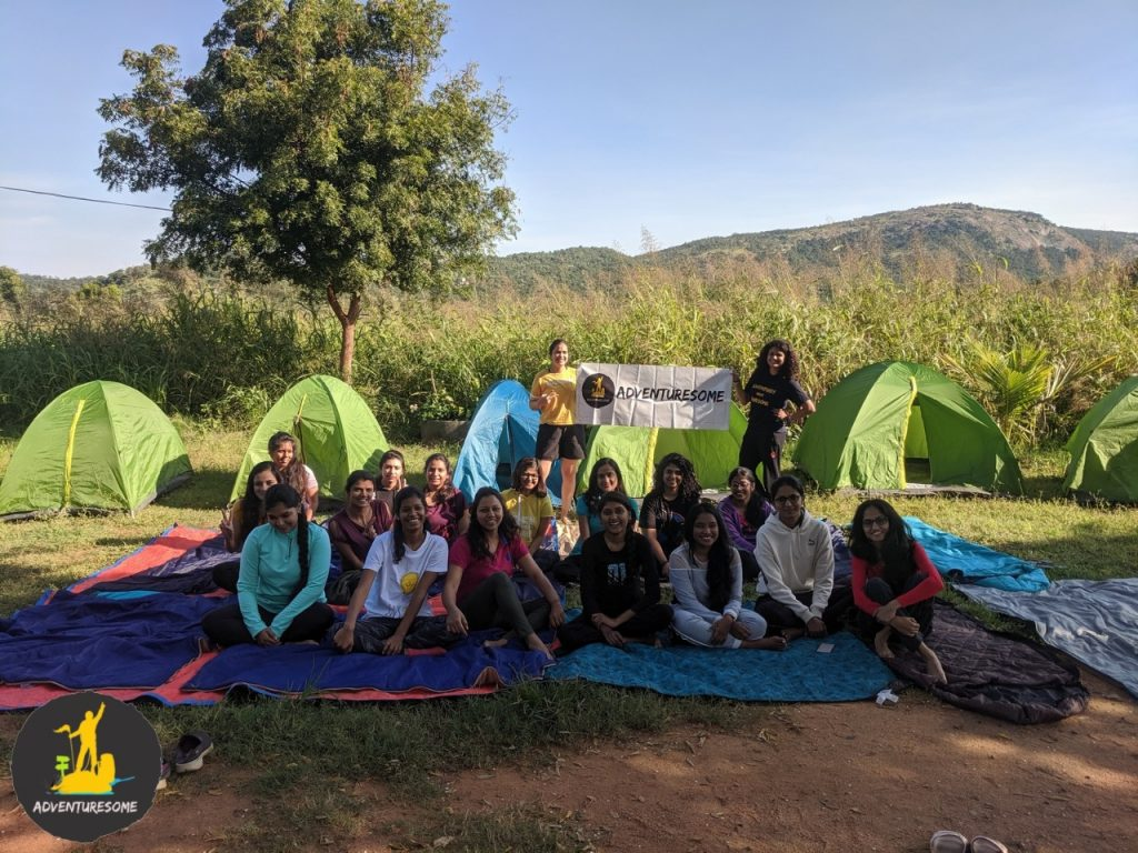 Women on Adventure in CampHalli
