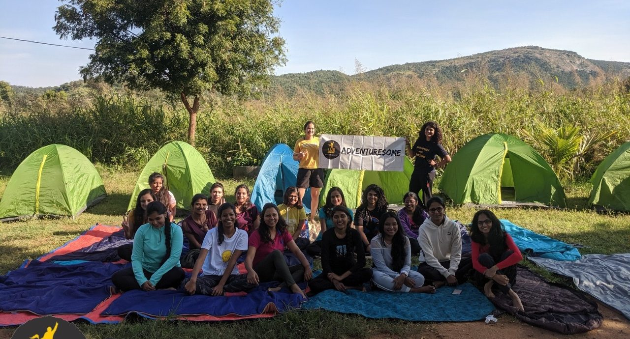 Women on Adventure in CampHalli