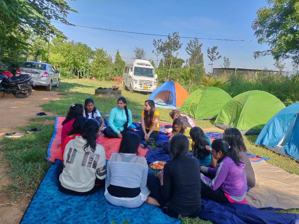 Women on Adventure at CampHalli