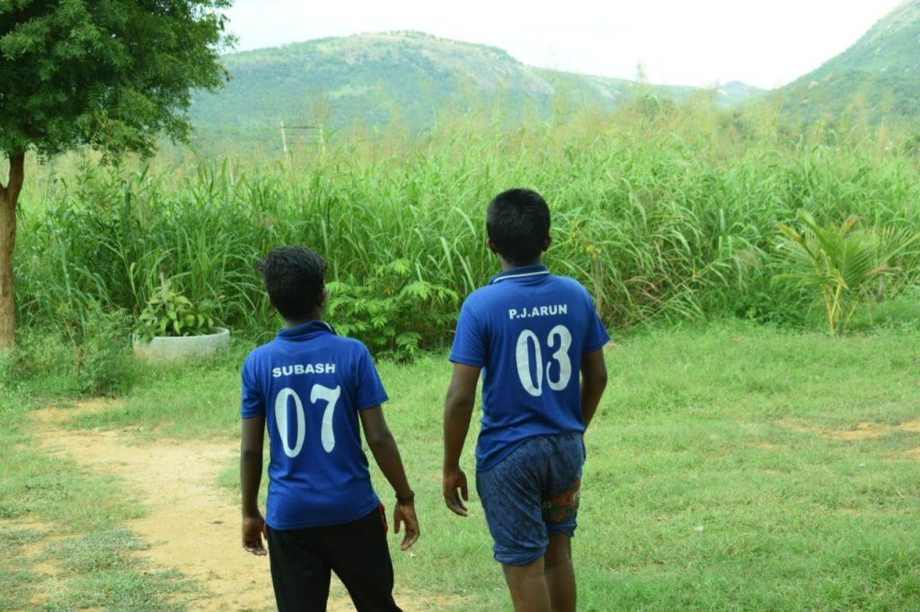 Children At CampHalli